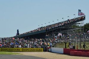 Fans pack out the grandstands