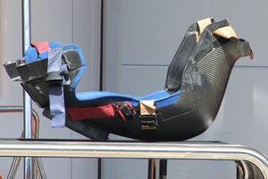 Alpine seat detail