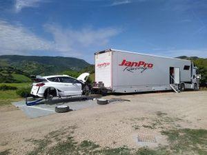 JanPro Racing Ford Fiesta WRC