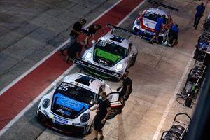 Alessandro Giardelli, Dinamic Motorsport, Simone Iaquinta, Dinamic Motorsport e Aldo Festante, Ombra Racing
