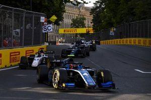 Felipe Drugovich, Uni-Virtuosi, leads Christian Lundgaard, ART Grand Prix