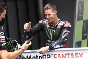 Polesitter Fabio Quartararo, Yamaha Factory Racing