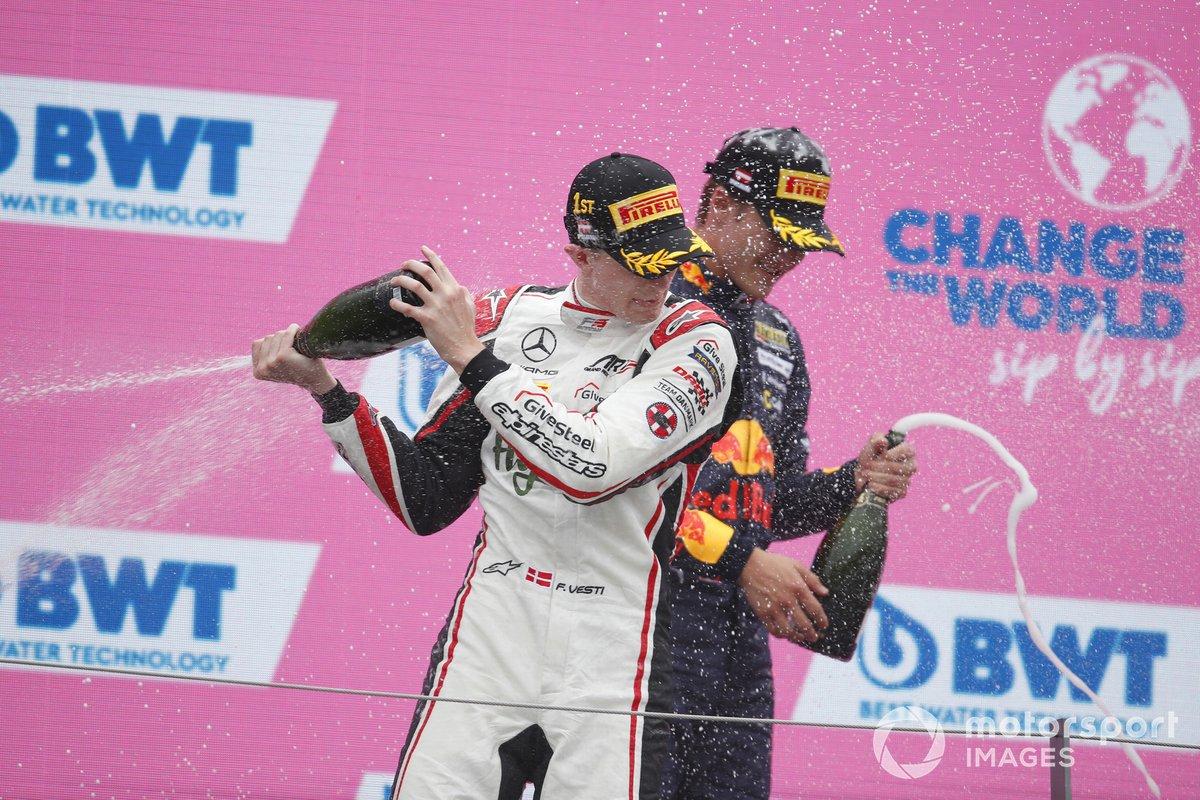Frederik Vesti, ART Grand Prix, Dennis Hauger, Prema Racing