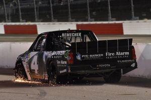 #4: John Hunter Nemechek, Kyle Busch Motorsports, Toyota Tundra Pye-Barker Fire & Safety