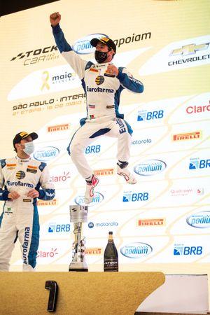 Antonio Felix da Costa comemora vitória em Interlagos