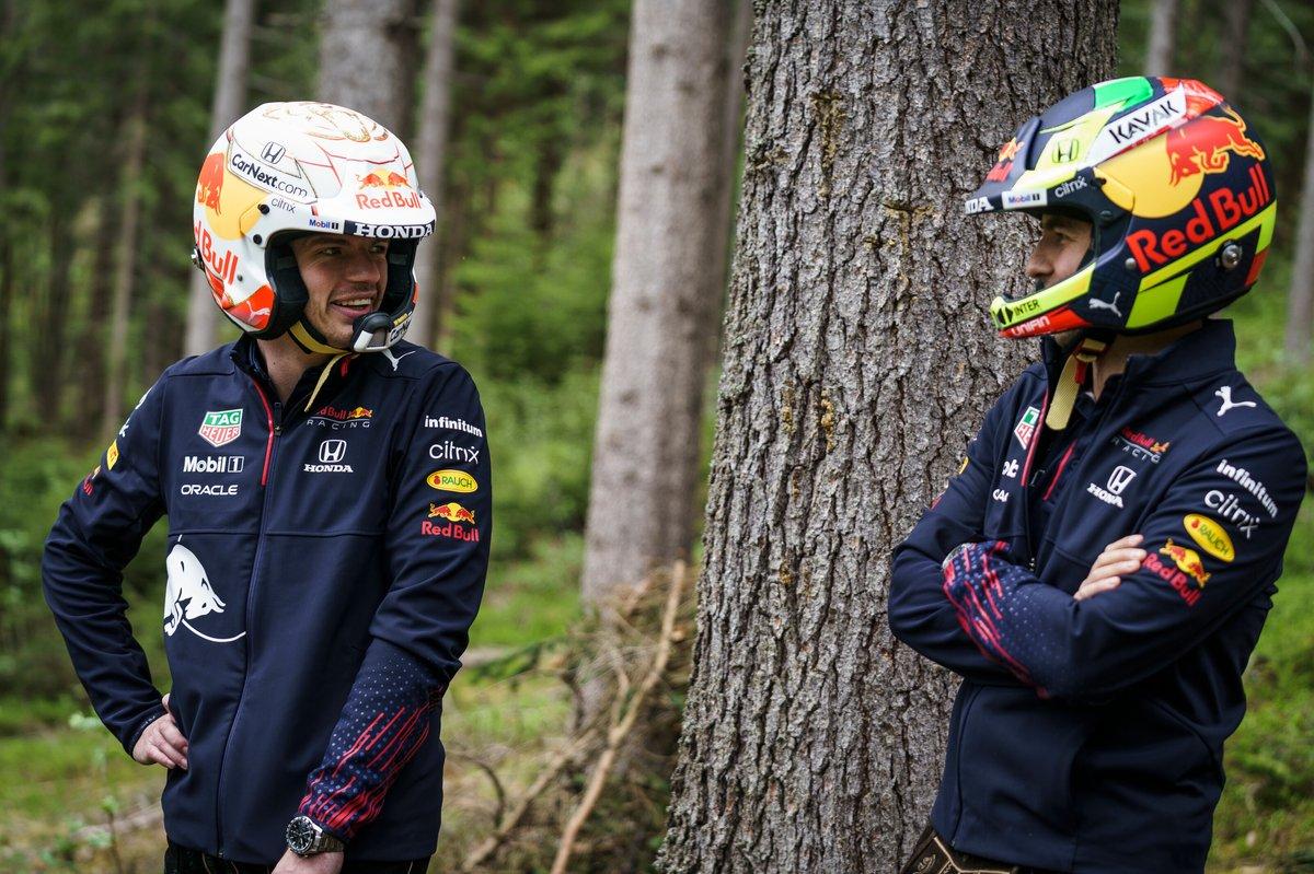 Max Verstappen y Sergio Perez, Red Bull Racing