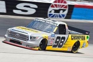 Grant Enfinger, ThorSport Racing, Toyota Tundra Champion/Curb Records