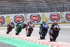 Philipp Oettl, Kawasaki Puccetti Racing, Federico Caricasulo, GMT94 Yamaha, Raffaele De Rosa, Orelac Racing VerdNatura, Randy Krummenacher, EAB Racing Team