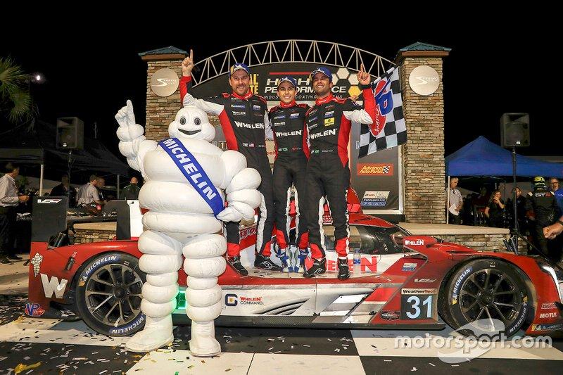 Race winners #31 Action Express Racing Cadillac DPi: Felipe Nasr, Eric Curran, Pipo Derani