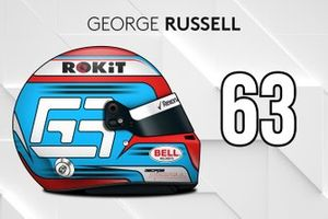 Le casque 2019 de George Russell