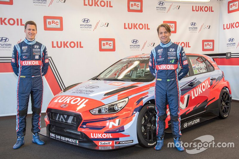 Команда BRC Hyundai N Lukoil Racing Team (Италия): Ники Катсбург и Аугусто Фарфус