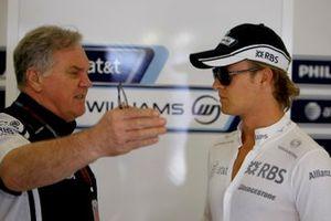 Patrick Head, Nico Rosberg, Williams