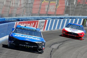 Ricky Stenhouse Jr., Roush Fenway Racing, Ford Mustang Fastenal, Joey Logano, Team Penske, Ford Mustang AAA Southern California