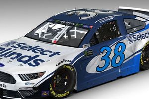 David Ragan, new sponsor SelectBlinds