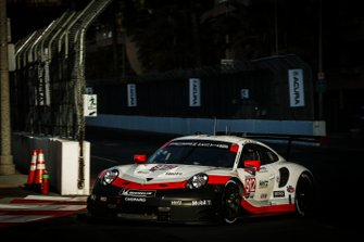 #912 Porsche GT Team Porsche 911 RSR, GTLM: Earl Bamber, Laurens Vanthoor.