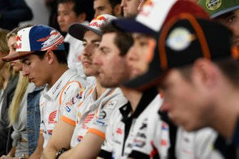 Riders including Marc Marquez, Jorge Lorenzo, Cal Crutchlow, Takaaki Nakagami and Tito Rabat were in attendance