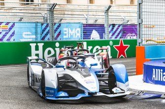 Antonio Felix da Costa, BMW I Andretti Motorsports, BMW iFE.18, Lucas Di Grassi, Audi Sport ABT Schaeffler, Audi e-tron FE05