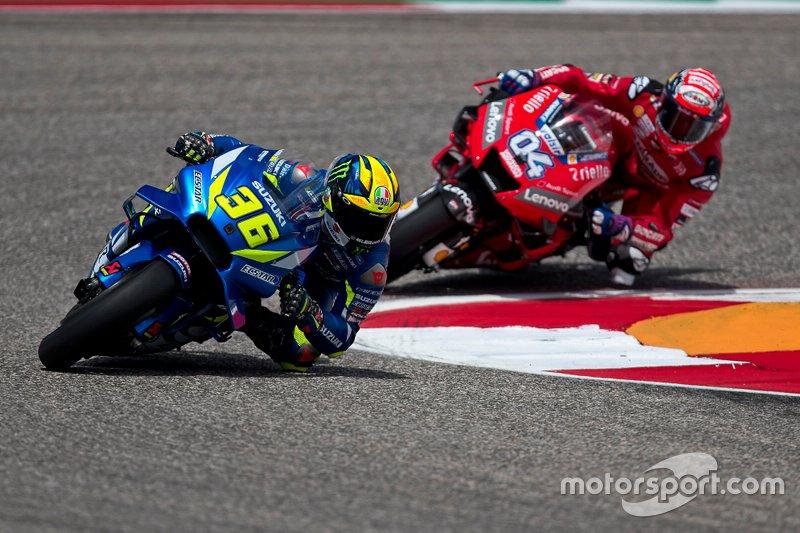 Joan Mir, Team Suzuki MotoGP, Andrea Dovizioso, Ducati Team