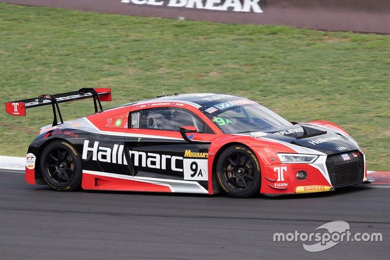 11. #9 Audi Sport Team MPC Audi R8 LMS: Marc Cini, Lee Holdsworth, Dean Fiore