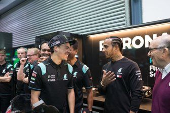 Льюис Хэмилтон, Франко Морбиделли, Petronas Yamaha SRT