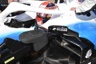 robert Kubica, Williams FW42, sidepod