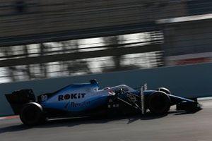 Robert Kubica, Williams FW42 avec des capteurs aérodynamiques