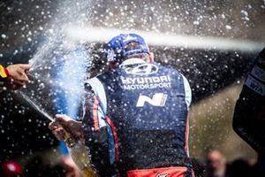 Podium: Nicolas Gilsoul, Hyundai Motorsport