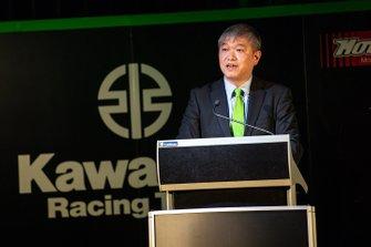 Shigemi Tanaka, Managing Director Kawasaki Motors Australia
