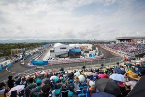 Andre Lotterer, DS TECHEETAH, DS E-Tense FE19, Lucas Di Grassi, Audi Sport ABT Schaeffler, Audi e-tron FE05, Jérôme d'Ambrosio, Mahindra Racing, M5 Electro