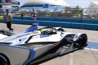 Felipe Massa, Venturi Formula E, Venturi VFE05, drives out of the garage
