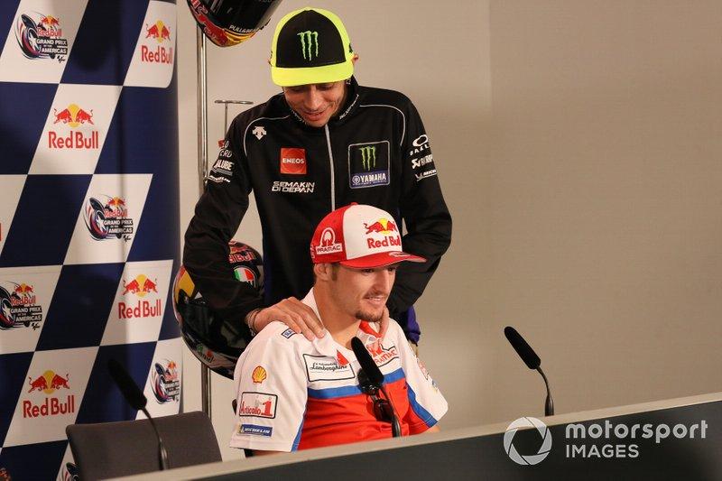Valentino Rossi, Yamaha Factory Racing, Jack Miller, Pramac Racing, Press Conference