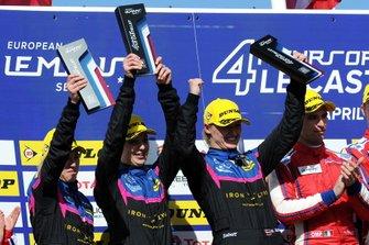 Podium: #83 Kessel Racing Ferrari F488 GTE: Manuela Gostner, Rahel Frey, Michelle Gatting