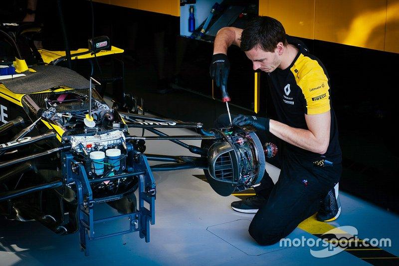 Renault F1 Ttakım elemanları