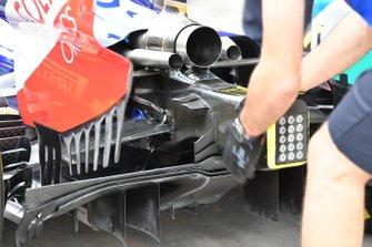 Tubo di scarico della Toro Rosso STR14