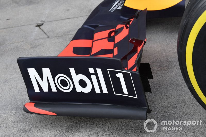 Front wing endplate of the Red Bull Racing RB15