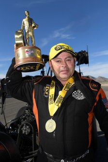 Top Fuel winner Mike Salinas