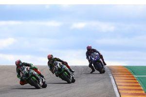 Leon Haslam, Kawasaki Racing, Jonathan Rea, Kawasaki Racing, Alex Lowes, Pata Yamaha