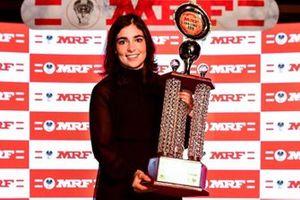 MRF Challenge 2019 Champion Jamie Chadwick