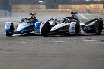 Felipe Nasr, Dragon Racing, Penske EV-3 en lutte avec Alexander Sims, BMW I Andretti Motorsports, BMW iFE.18