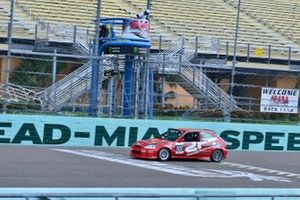 #105 MP4C Honda Civic driven by Dennis Fernandez of DRT