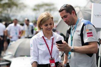 Susie Wolff, directora de Venturi Formula E