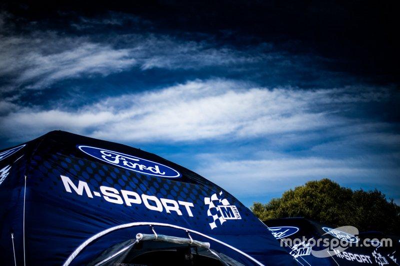 M-Sport Ford WRT takım alanı