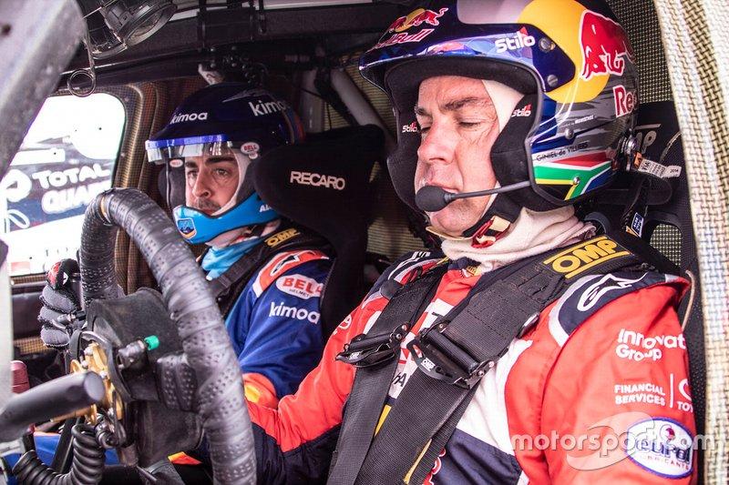 301# Toyota Gazoo Racing Toyota Hilux: Фернандо Алонсо, Жінель де Вільєр