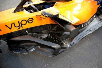 McLaren bargeboard