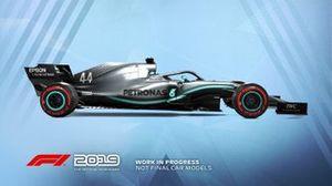 F1 2019 Mercedes livery