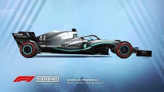 Livrée Mercedes dans F1 2019