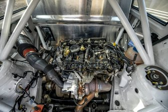 Volkswagen Polo RX engine detail
