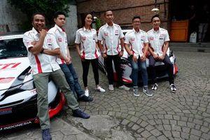 Haridarma Manoppo, Herdiko Setya Putra, Sabrina Sameh, Adrianza Yunial, Anjasara Wahyu dan Demas Agil, Toyota Team Indonesia