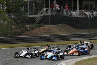 Takuma Sato, Rahal Letterman Lanigan Racing Honda, Graham Rahal, Rahal Letterman Lanigan Racing Honda, start