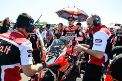 Chaz Davies, Ducati on the grid